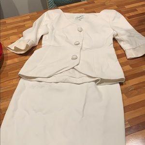Vintage Scaasi evening suit